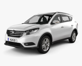 3D model of DongFeng Fengguang 580 2016
