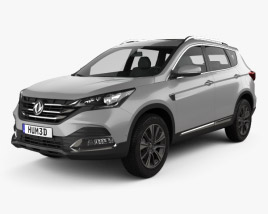 3D model of DongFeng AX7 2018