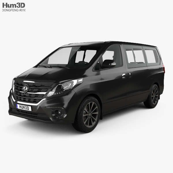 DongFeng Future M7 2018 3D model