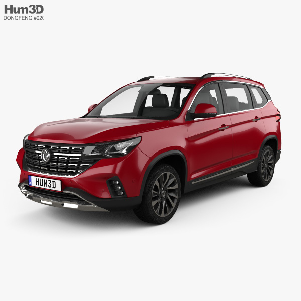DongFeng Forthing T5 2018 3D model