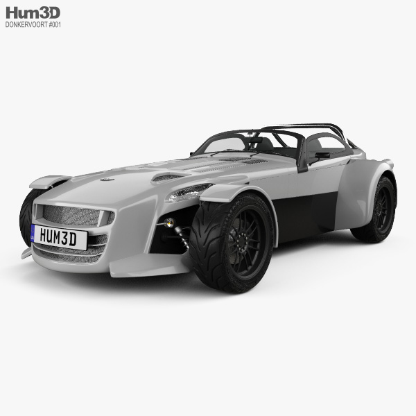 Donkervoort D8 GTO 2013 3D model