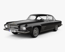 3D model of Dual-Ghia L6.4 coupe 1960