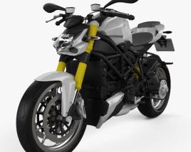 3D model of Ducati Streetfighter 848 2012
