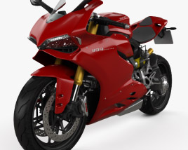 3D model of Ducati 1199 Panigale 2012