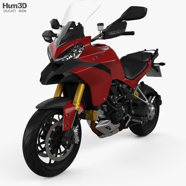 Ducati Multistrada 1200 2010 3D model