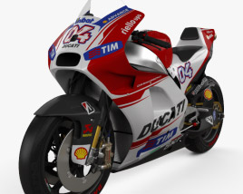 3D model of Ducati Desmosedici GP15 2015