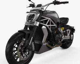 3D model of Ducati XDiavel 2016