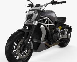 Ducati XDiavel 2016 3D model