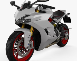 3D model of Ducati Supersport S 2017
