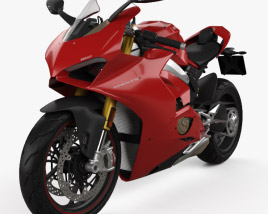 3D model of Ducati Panigale V4S 2018
