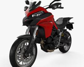 3D model of Ducati Multistrada 950 2018