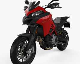 3D model of Ducati Multistrada 950 2019