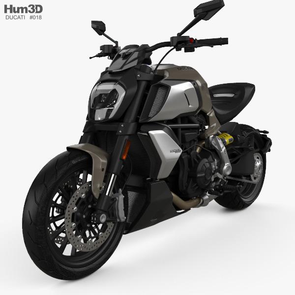 Ducati Diavel 1260 2019 3D model