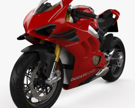 3D model of Ducati Panigale V4R 2019