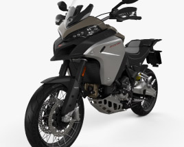 3D model of Ducati Multistrada 1260 Enduro 2019
