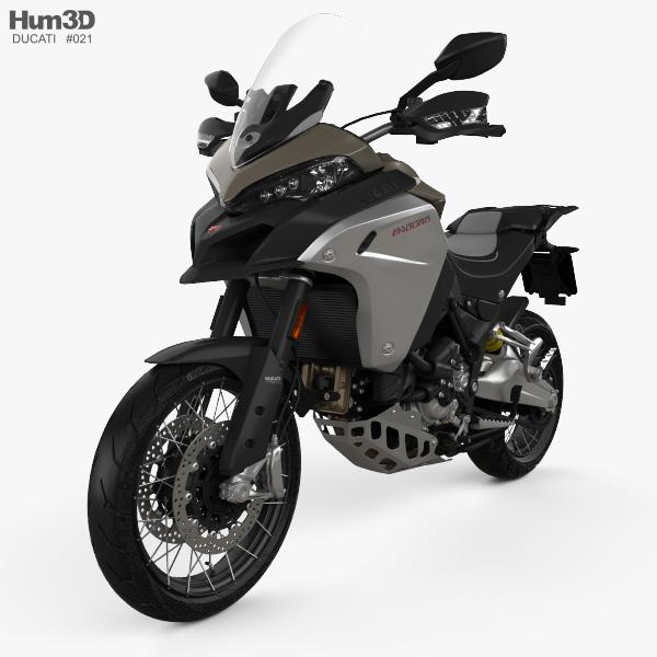 Ducati Multistrada 1260 Enduro 2019 3D model