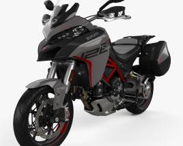 Ducati Multistrada 1260S GrandTour 2020 3D model