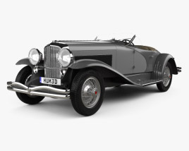 3D model of Duesenberg SSJ Roadster 1935