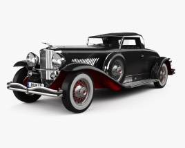 3D model of Duesenberg Model J 1931