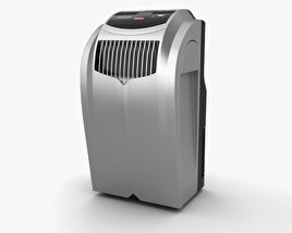 3D model of EdgeStar Extreme Cool 12 BTU Portable Air Conditioner