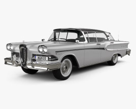 3D model of Edsel Ranger sedan 1958