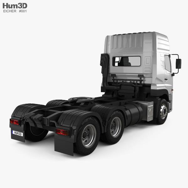 Eicher Pro 8049 Heavy Duty Tractor Truck 2014 3D model