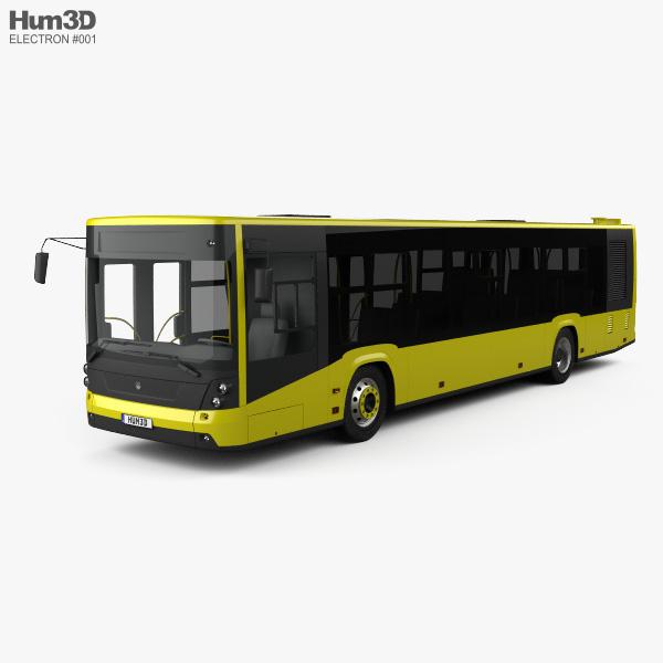Electron A185 Bus 2014 3D model