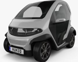 3D model of Eli Zero 2017