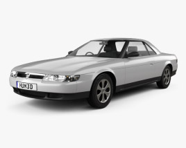 3D model of Eunos Cosmo 1990