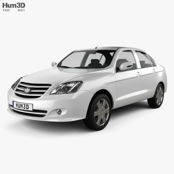 FAW Xiali N5 2012 3D model