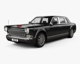 3D model of FAW Hongqi HQE 2010