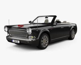 FAW Hongqi L5 cabriolet 2015 3D model