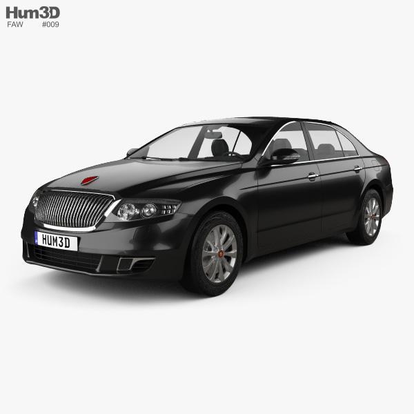 3D model of FAW Hongqi H7 2013