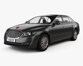 3D model of FAW Hongqi H7 2018