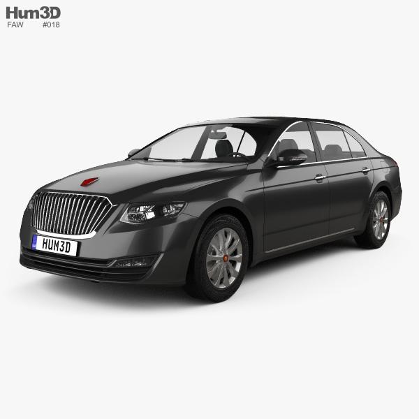 3D model of FAW Hongqi H7 2018