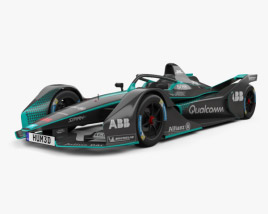 3D model of FIA Gen2 Formula E 2019