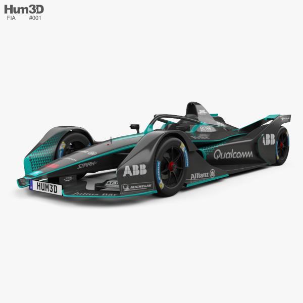 FIA Gen2 Formula E 2019 3D model