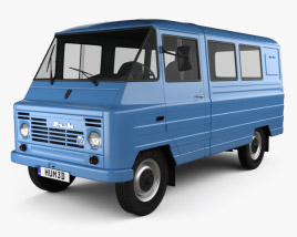 3D model of FSC Zuk (A07) Van 1975
