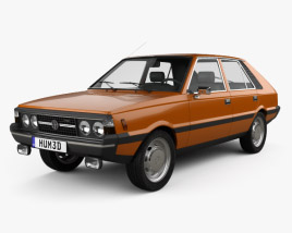 3D model of FSO Polonez 1978