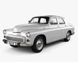 3D model of FSO Warszawa 223 1964