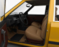 FSO Polonez with HQ interior 1978 3d model