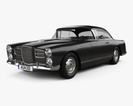 3D model of Facel Vega HK500 1959