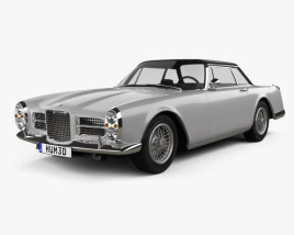 3D model of Facel Vega Facel II 1962