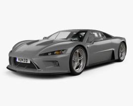 3D model of Falcon F7 2014
