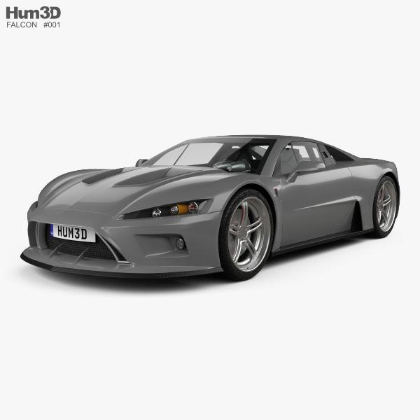 Falcon F7 2014 3D model