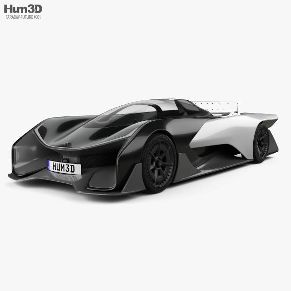 Faraday Future FFZERO1 2016 3D model