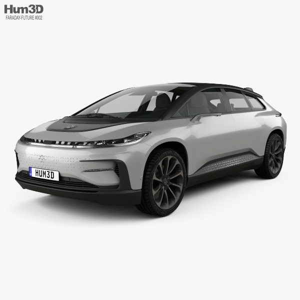 Faraday Future FF91 2017 3D model