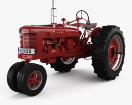 3D model of Farmall Super H 1939