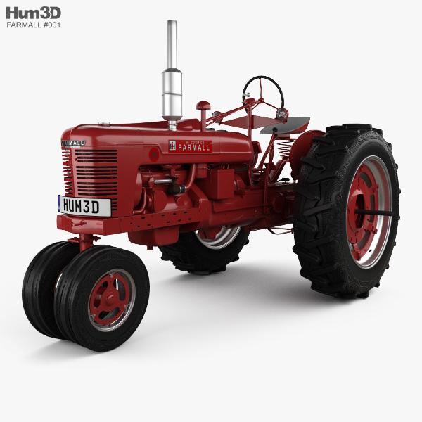 Farmall Super H 1939 3D model