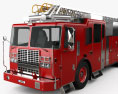 Ferrara Ultra HD-100 Rear Mount Aerial Ladder Firetruck 2013 3d model